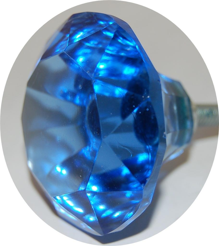 As many big 5cm glass natural style turquoise door knobs for Turquoise door knobs