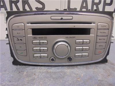 ford 6000 cd car radio cd player mk4 mondeo focus connect. Black Bedroom Furniture Sets. Home Design Ideas