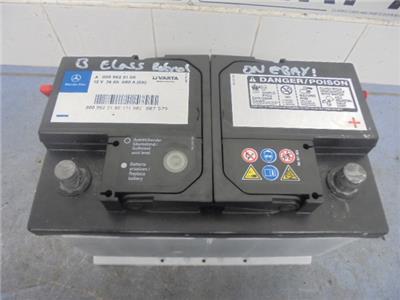 geuine 2008 mercedes b class car battery a0009823108 12v. Black Bedroom Furniture Sets. Home Design Ideas