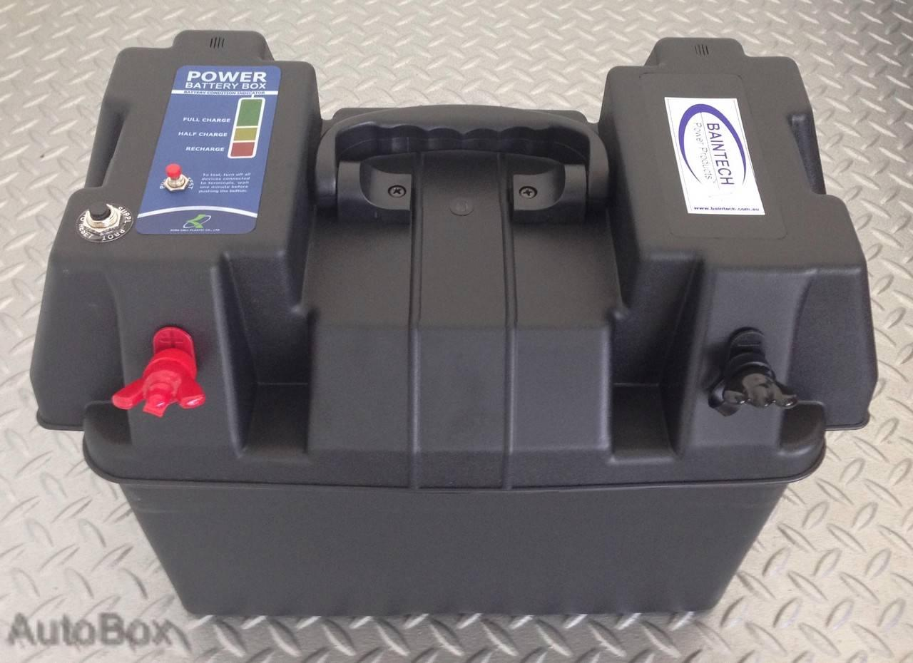 4wd Battery Box Holder Case 12v 12 Volt Deep Cycle Dual