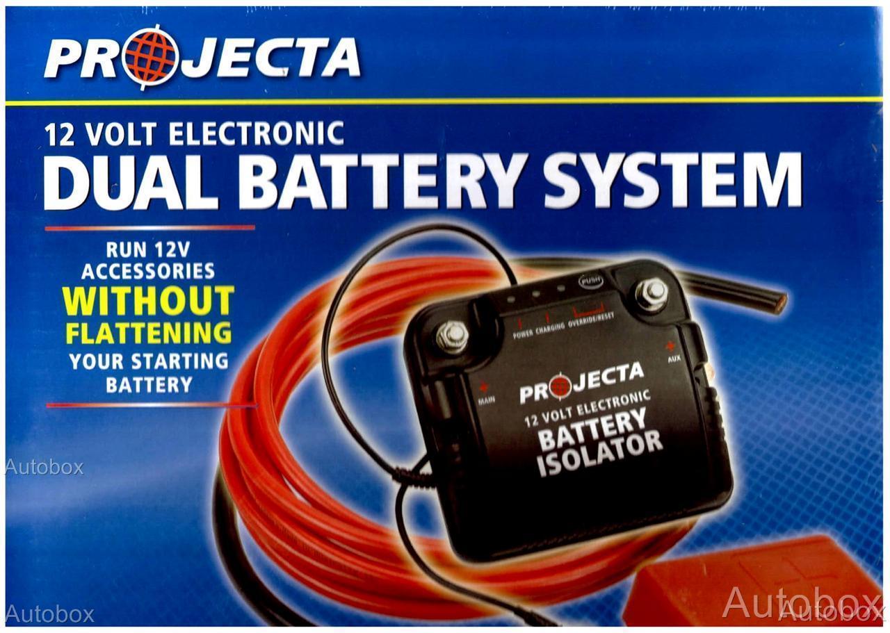 matson dual battery isolator instructions