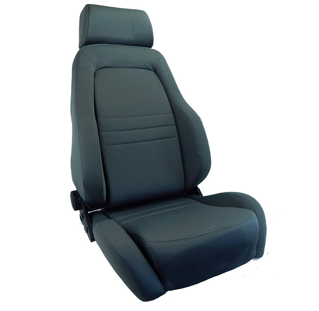 autotecnica 4wd explorer bucket seat pair 2 adr approved grey landcruiser 4x4 ebay. Black Bedroom Furniture Sets. Home Design Ideas