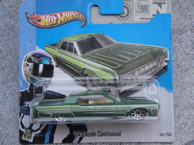 hot wheels 2013 191 250 1964 lincoln continental hw. Black Bedroom Furniture Sets. Home Design Ideas