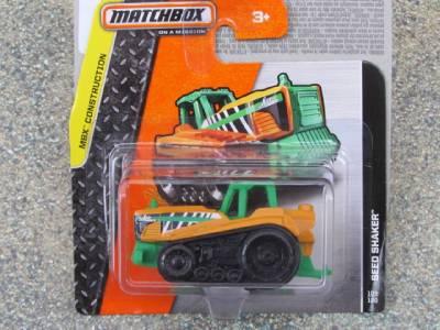 Matchbox 2014 109 120 Seed Shaker Orange Green