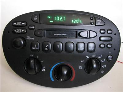 Factory cd player ford escort zx2
