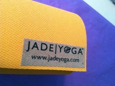 Jadeyoga Jade Yoga Natural Rubber Eco Mat 74 Quot Saffron Free