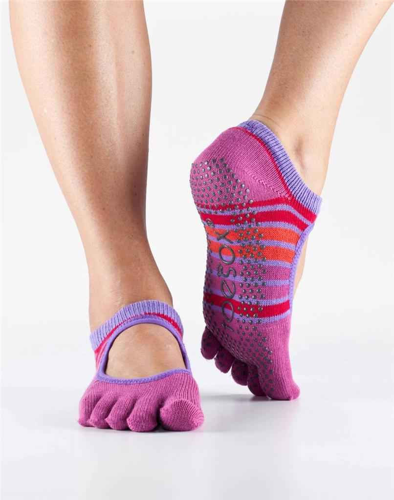 TOESOX Toe Sox Yoga Pilates Sock Bella w G高清图片