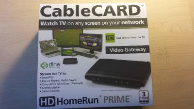 SiliconDust HDHomeRun Prime 3-Tuner Network CableCard TV Tuner DLNA Compatible | eBay