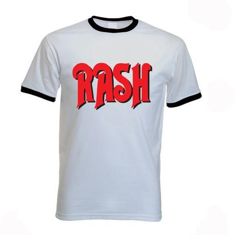 Rash t shirt geddy lee rush time machine ebay for What is a rash shirt