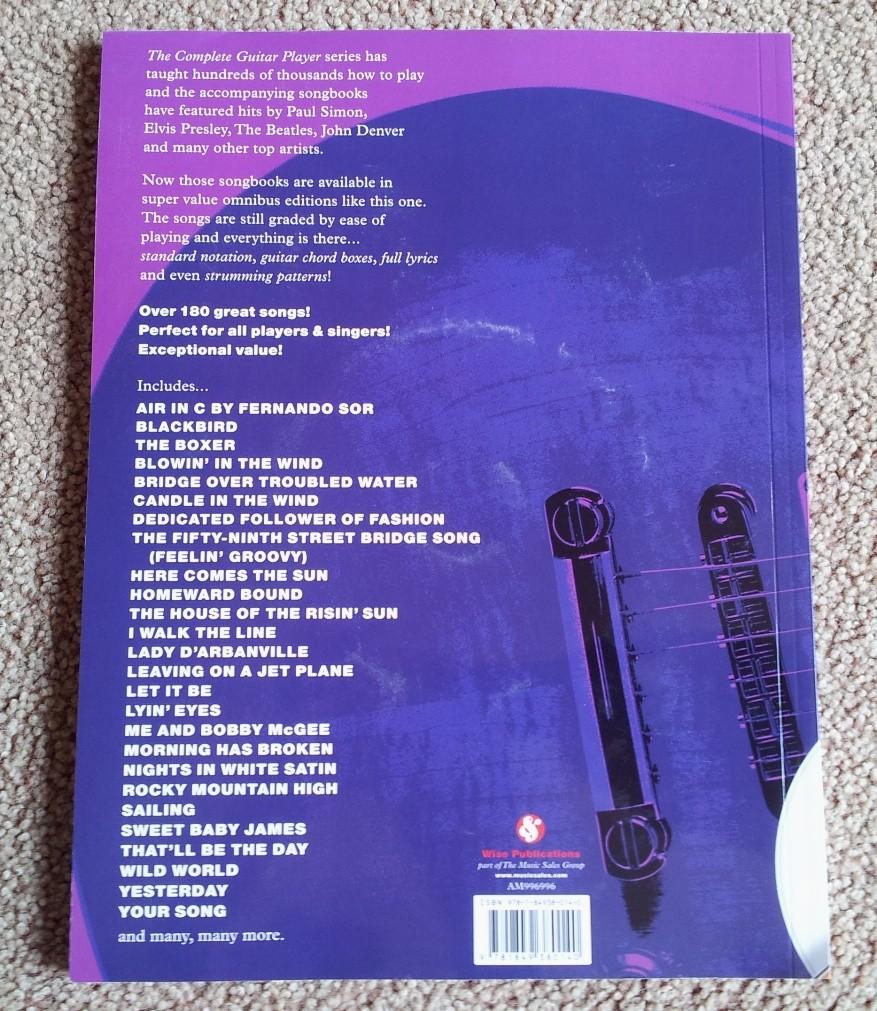Complete Guitar Player Songbook Omnibus Bonus Cd