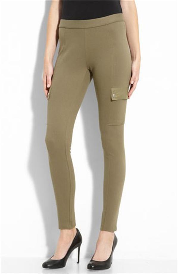 Model Dittos Women39s Forest Green Denim Pants  11948774  Overstockcom