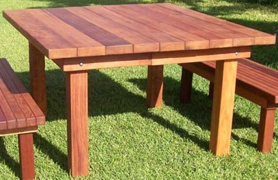 details about wood redwood outdoor patio furniture 4 39 square table set