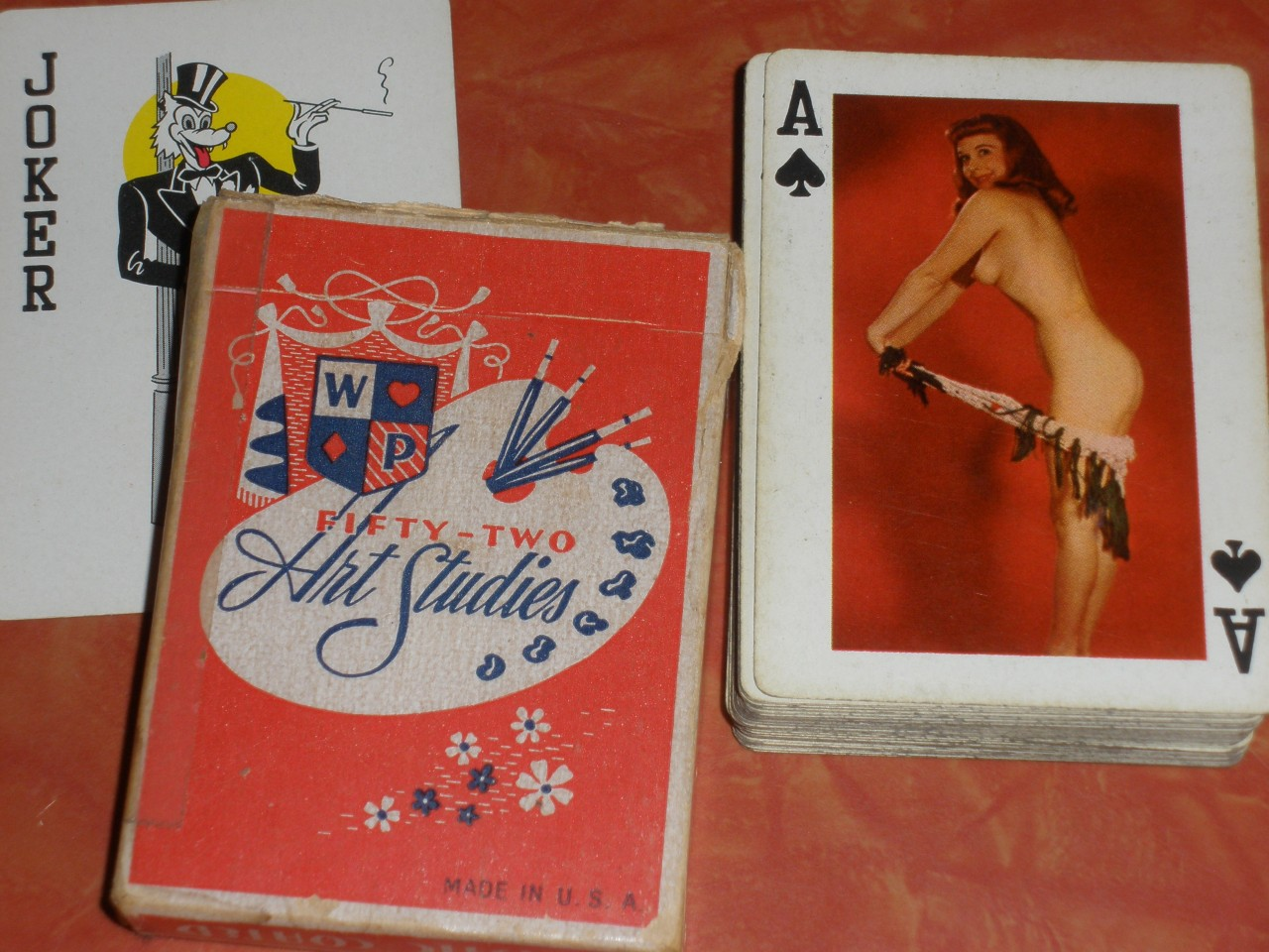 Advise Playing cards of naked girls topic think