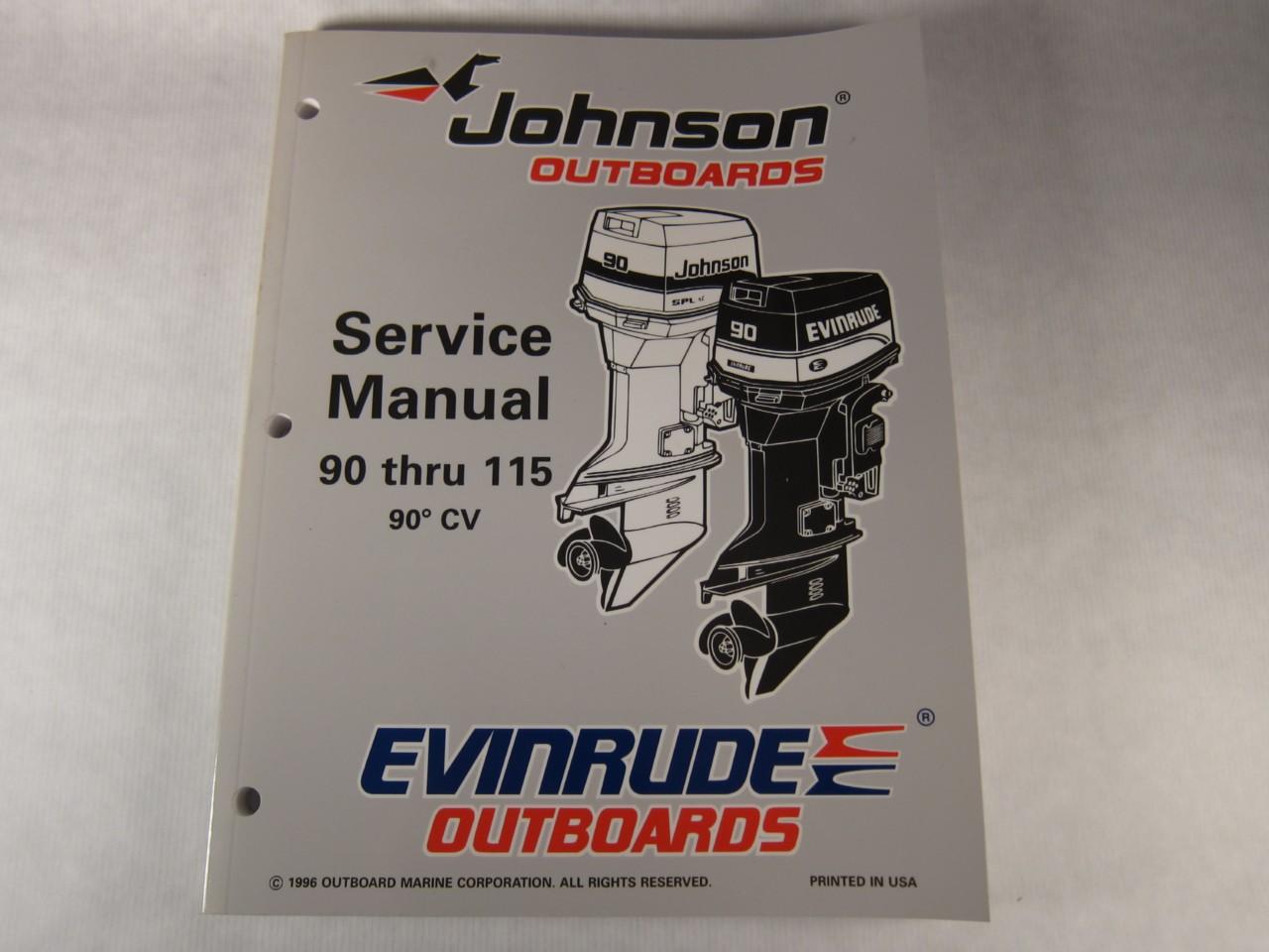 1997 Johnson Evinrude Outboard Service Manual 90