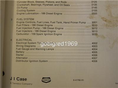 Case 1845B Uni Loader Skid Steer Service Shop Manual LOTS More Listed