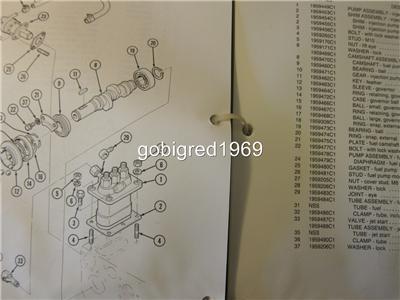 1988 Case 1825 Uni Loader Skid Steer Parts Catalog Manual LOTS More