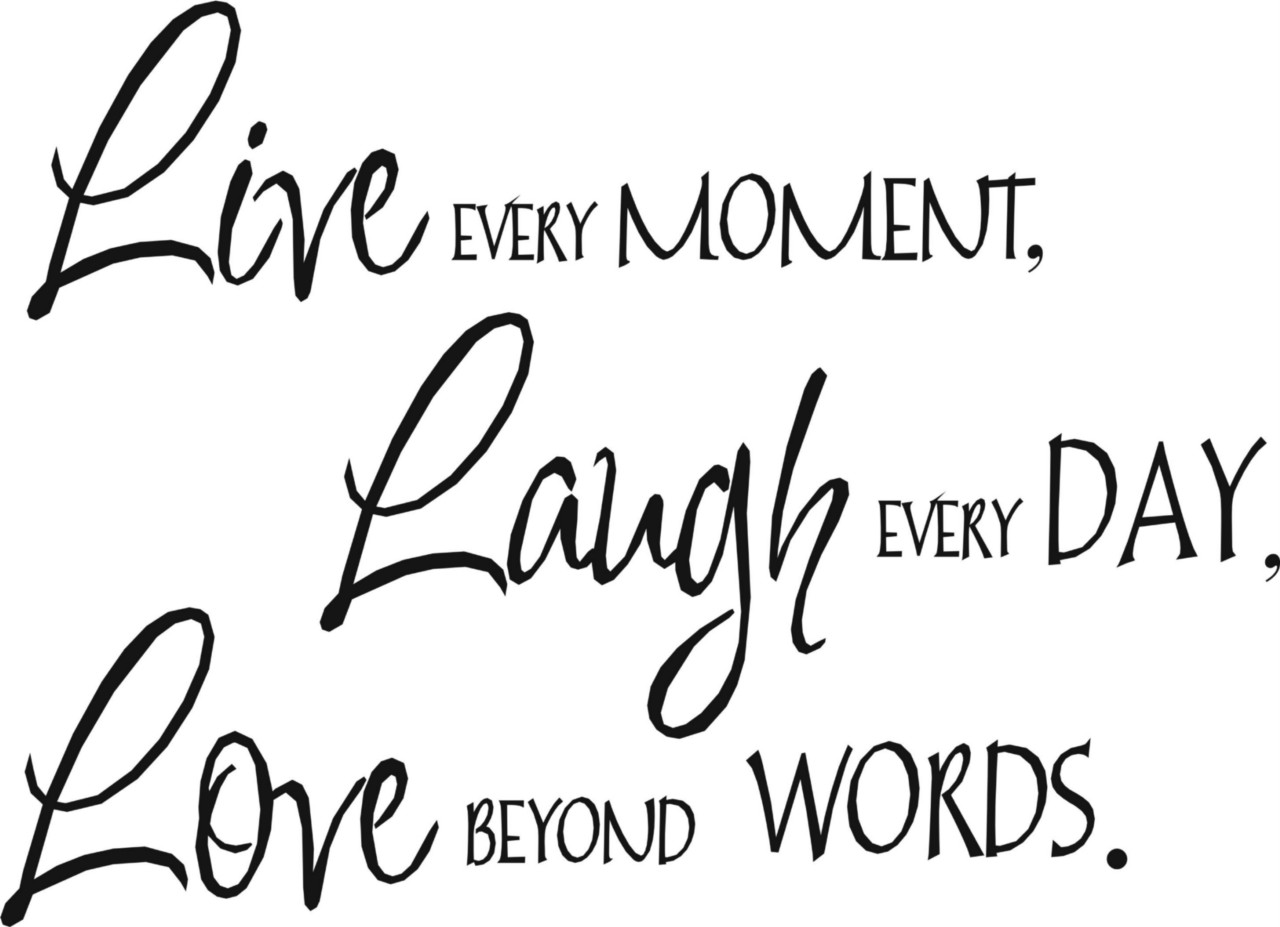 wall quote art sticker live laugh love 3 sizes ebay. Black Bedroom Furniture Sets. Home Design Ideas