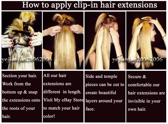 Do clip in extensions ruin your hair