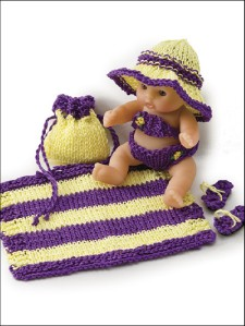 Knitting Patterns ITTY BITTY Baby Doll Clothes 5 Beren | eBay
