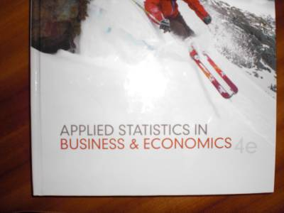 "applied statistics in business and economics Be the first to review ""test bank for applied statistics in business and economics, 4th edition: david doane"" cancel reply you must be logged in to post a comment."