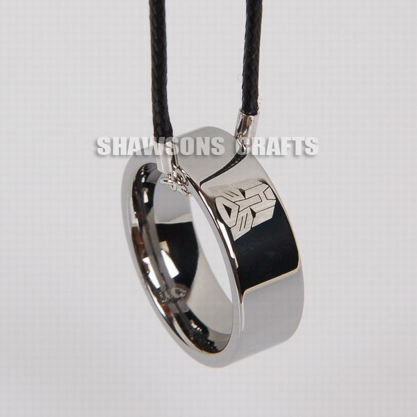 Transformers Bands: TUNGSTEN CARBIDE RING TRANSFORMERS SYMBOL JEWELRY AUTOBOTS
