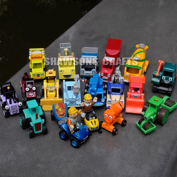 bob the builder diecast toys 16 vehicle lot scoop lofty
