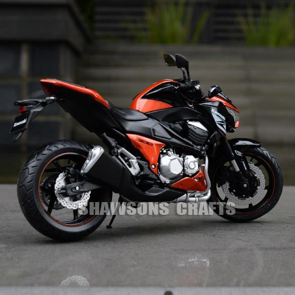 112 diecast motorcycle models kawasaki z800 2014 sport