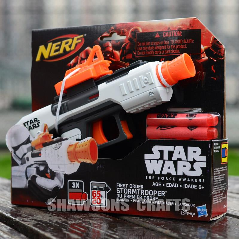 Star Wars Toy Guns : Hasbro nerf star wars stormtrooper blaster pistol soft