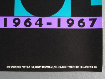 """andy warhol """"the factory years"""" nat finkelstein poster   ebay"""