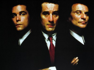Goodfellas Poster Black And White