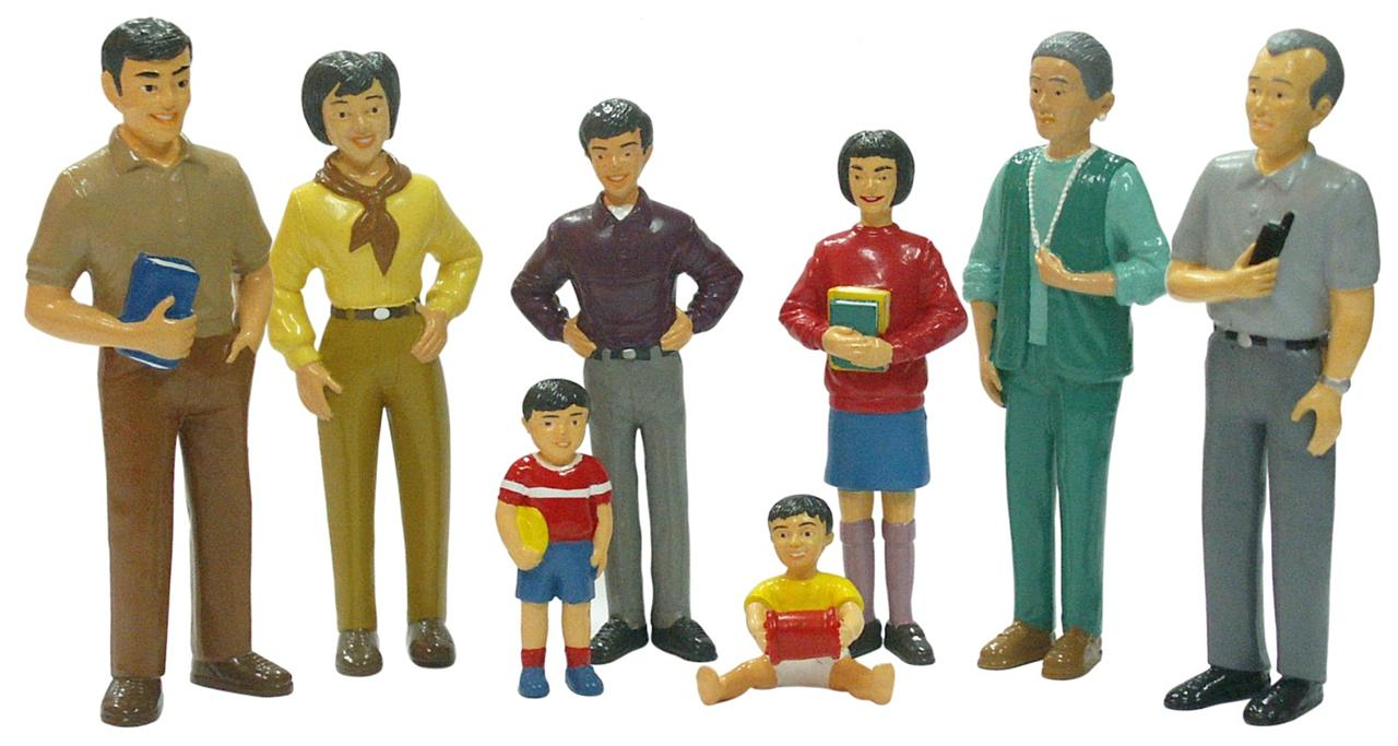 Ethnic-Asian-Dolls-House-Family-8-Family-Doll-Figures