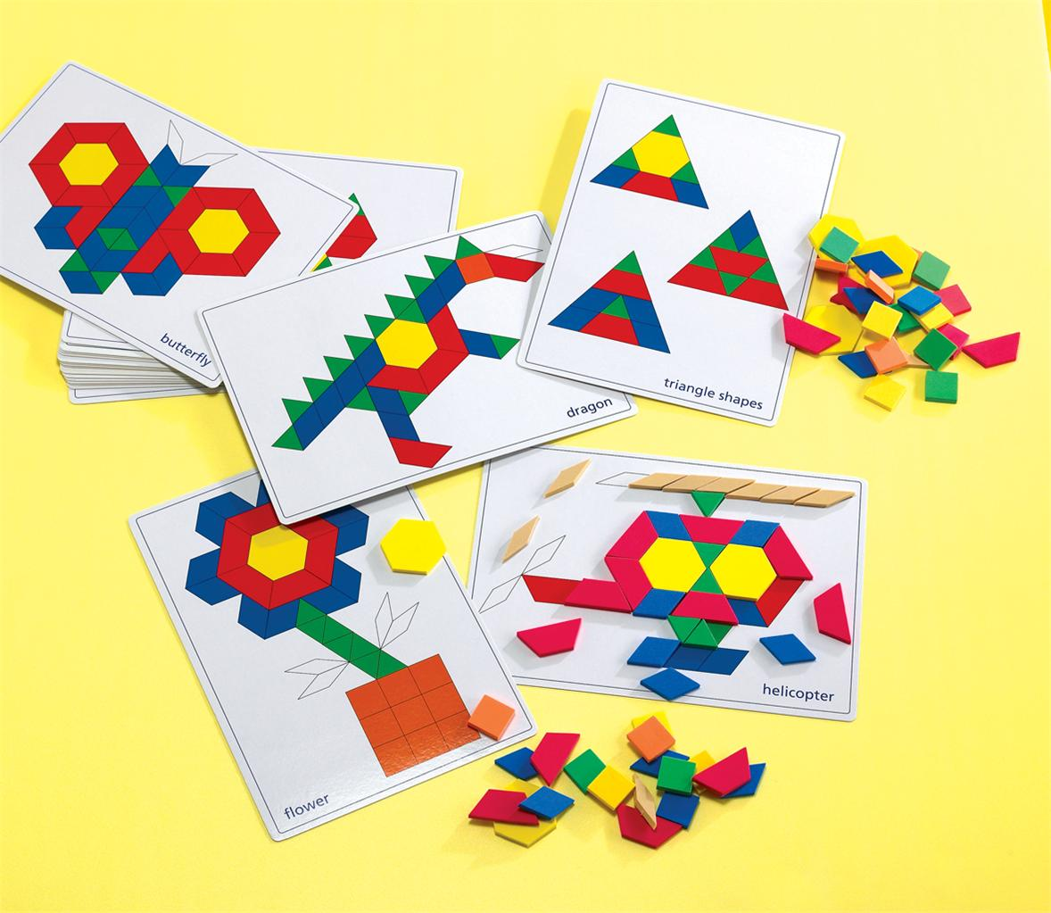 Pattern-Blocks-Picture-Cards-Make-Geometric-Shapes-Pictures-Set-of-20-Cards