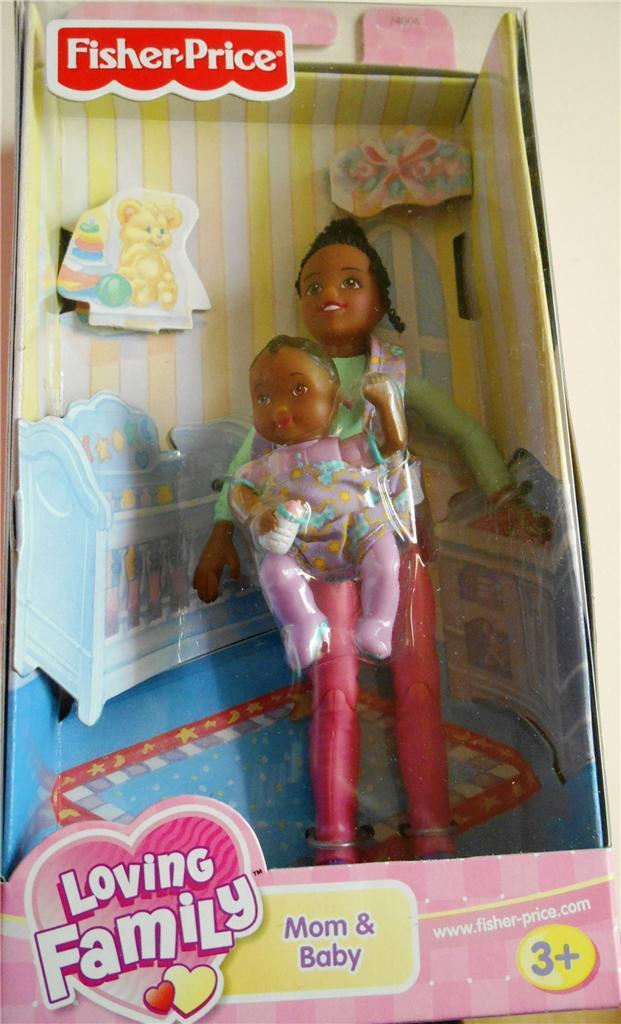 Fisher-Price-Loving-Family-dollshouse-Mum-Baby