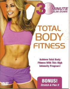 30 minute slim down total body fitness shaping toning workout exersise dvd. Black Bedroom Furniture Sets. Home Design Ideas