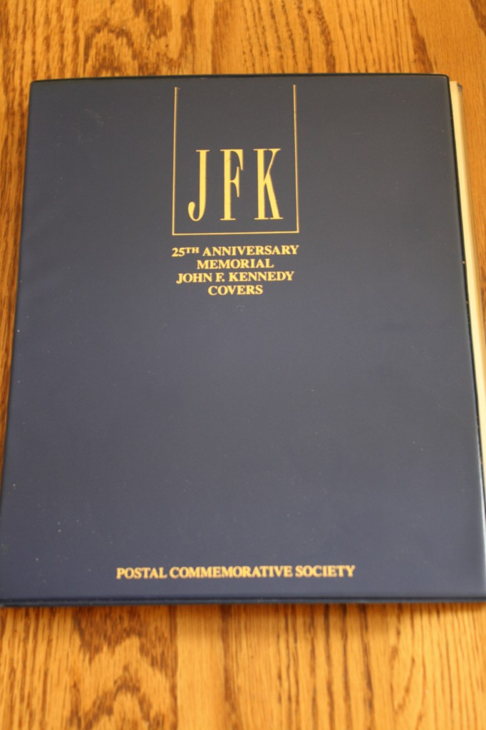 JFK-25TH-ANNIVERSARY-POSTAL-STAMP-MEMORIAL-COVERS-ALBUM
