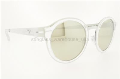 EMPORIO ARMANI SUNGLASSES EA 2029 31076G 48MM WHITE FRAME ...