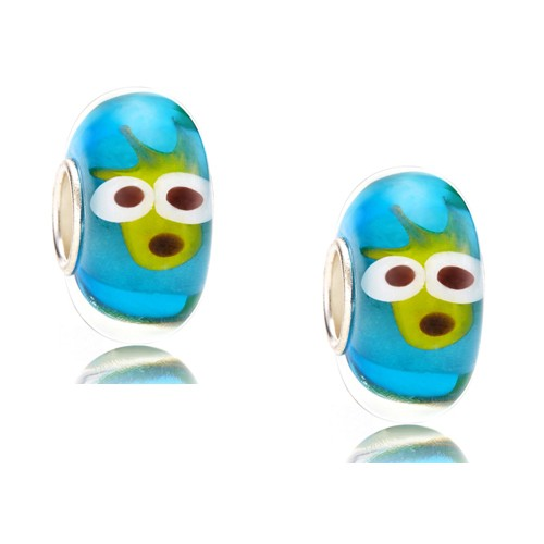 Smart-2pc-OOAK-Handmade-Animal-Murano-Glass-Beads-fit-European-Charm-Bracelet