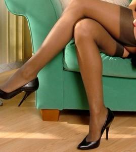 Pantyhose tall foot Cuban