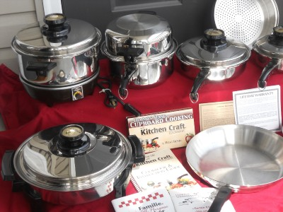 Attrayant Kitchen Craft Cookware On Kitchen Craft West Bend Waterless Stainless Cookware  Pots Pan Skillet