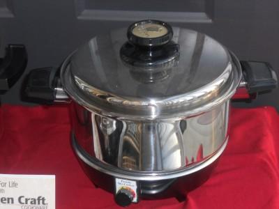 Kitchen craft west bend waterless stainless slow cooker 4 for Kitchen craft waterless cookware