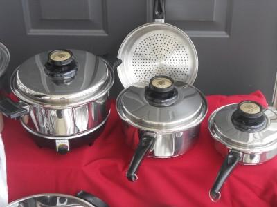 Kitchen craft west bend americraft waterless stainless for Kitchen craft waterless cookware