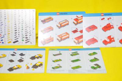 LegoEducationVehiclesSet9333withTote9电视塔图纸通辽图片