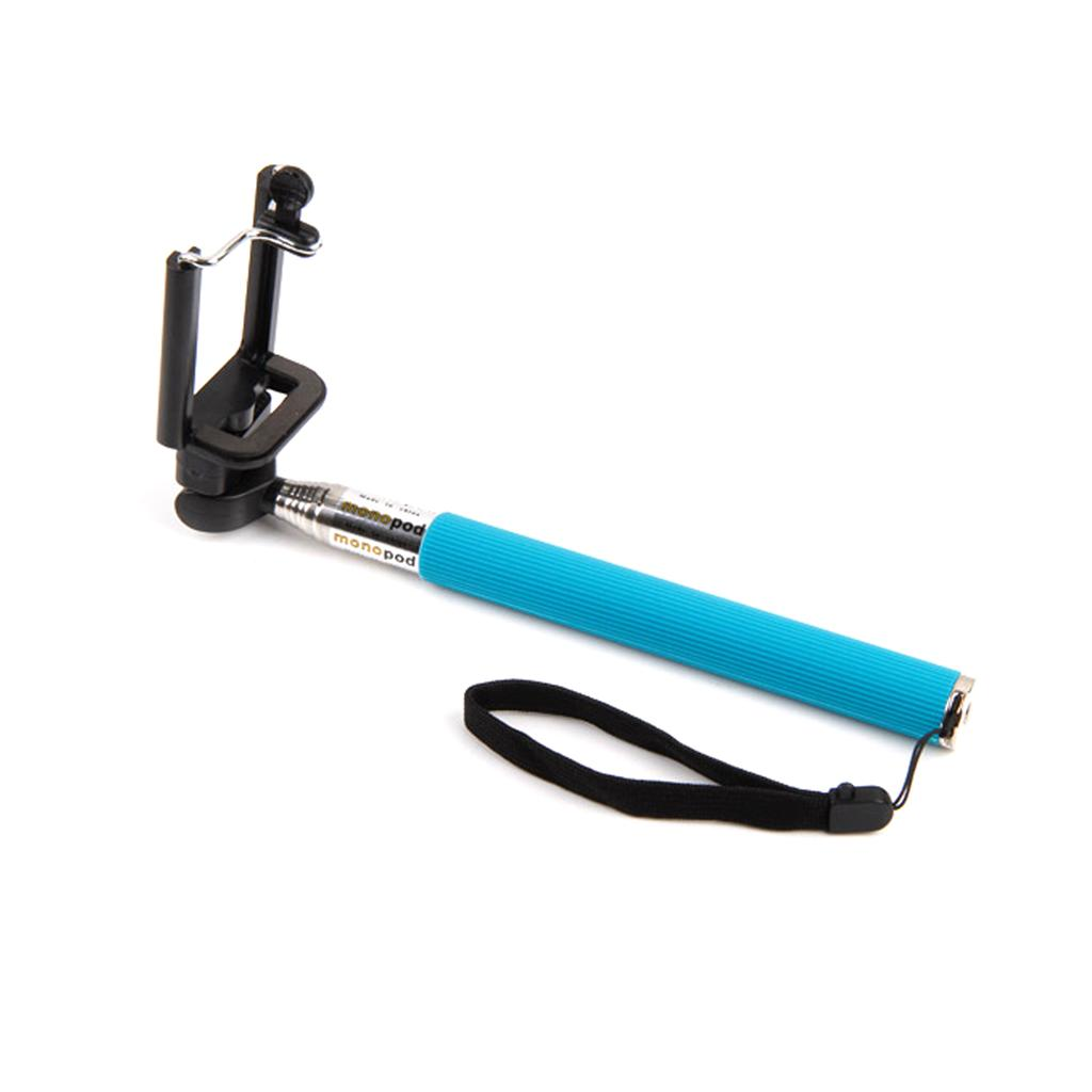 new selfie stick monopod bluetooth shutter remote for iphone and android. Black Bedroom Furniture Sets. Home Design Ideas