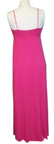 Nicole Miller Hot Pink Maxi Dress Size Large New without Tags