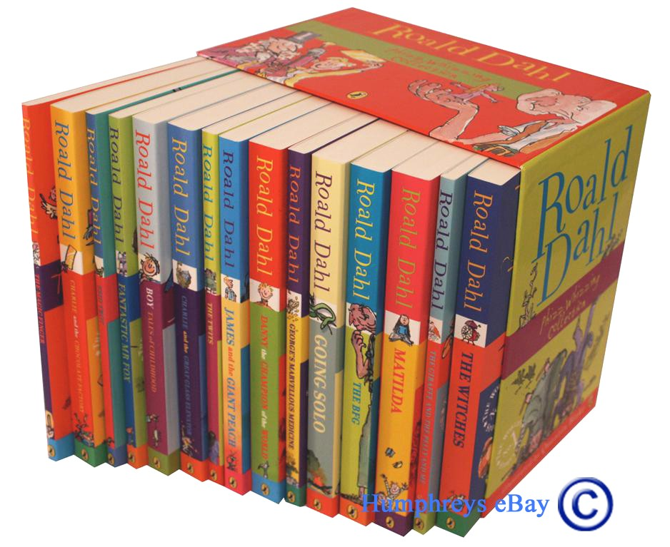 New-ROALD-DAHL-COLLECTION-15-Books-Box-Set-RRP-149-95-Phizz-Wizzing-Collection