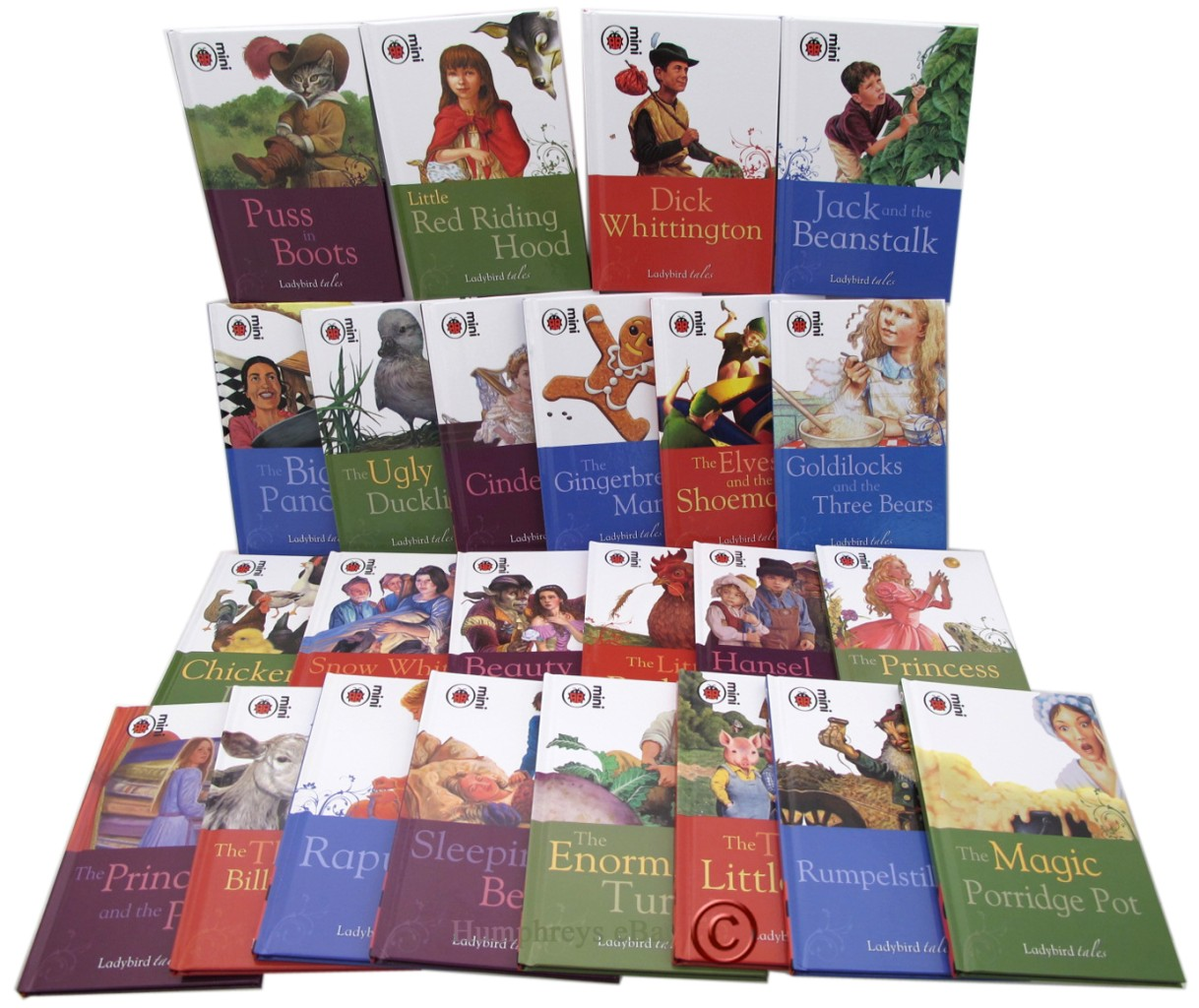 BNew-24-Books-Ladybird-Tales-Classic-Collection-Box-Set