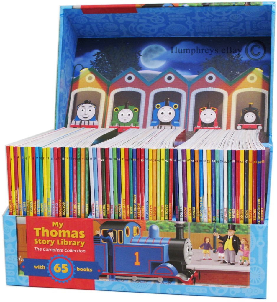 New 65 Books My Thomas The Tank Engine Story Library Ebay
