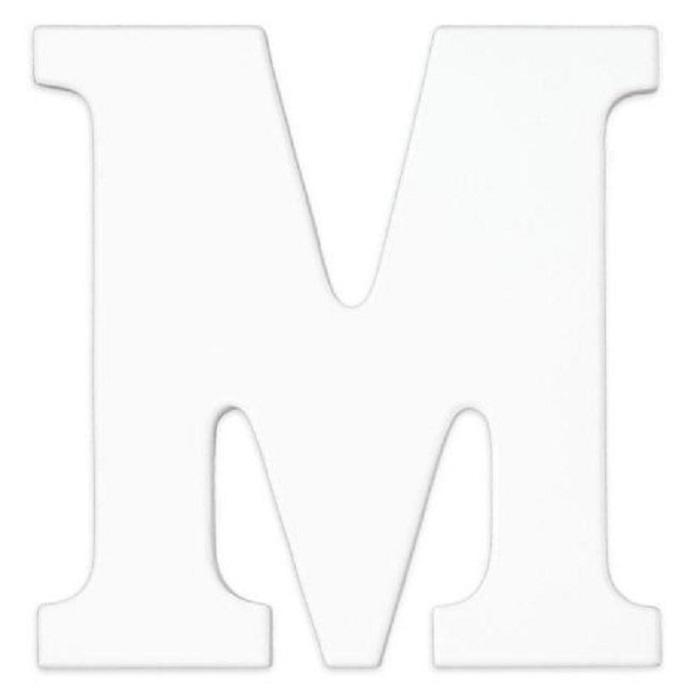 kidkraft wooden mdf wall hanging letter 8 inch high x 6