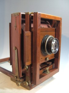Vintage Kodak Wood Wooden 8 x 10 No 2 View Camera w Red Bellows Brass