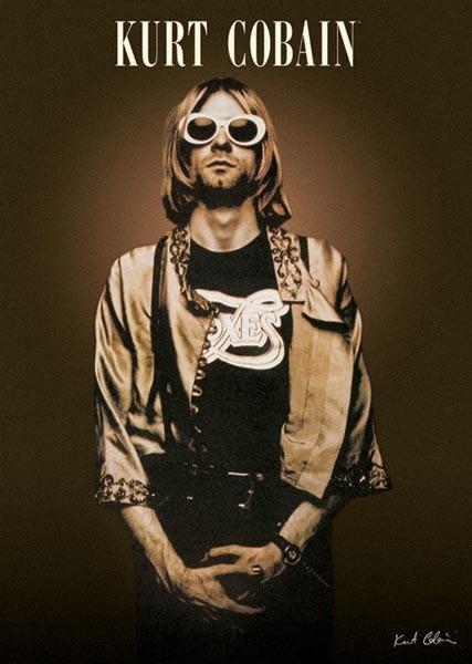 Brand New Kurt Cobain Sunglasses Rock 1950s Glasses